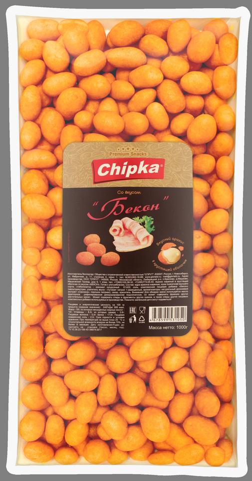 """Розничная упаковка арахиса в глазури""""Бекон"""", 1000 гр"""