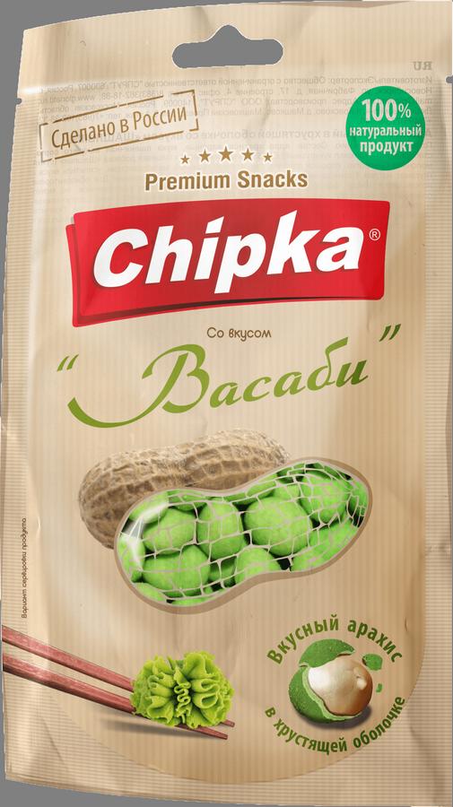 """Розничная упаковка арахиса в глазури""""Васаби"""", 40 гр"""
